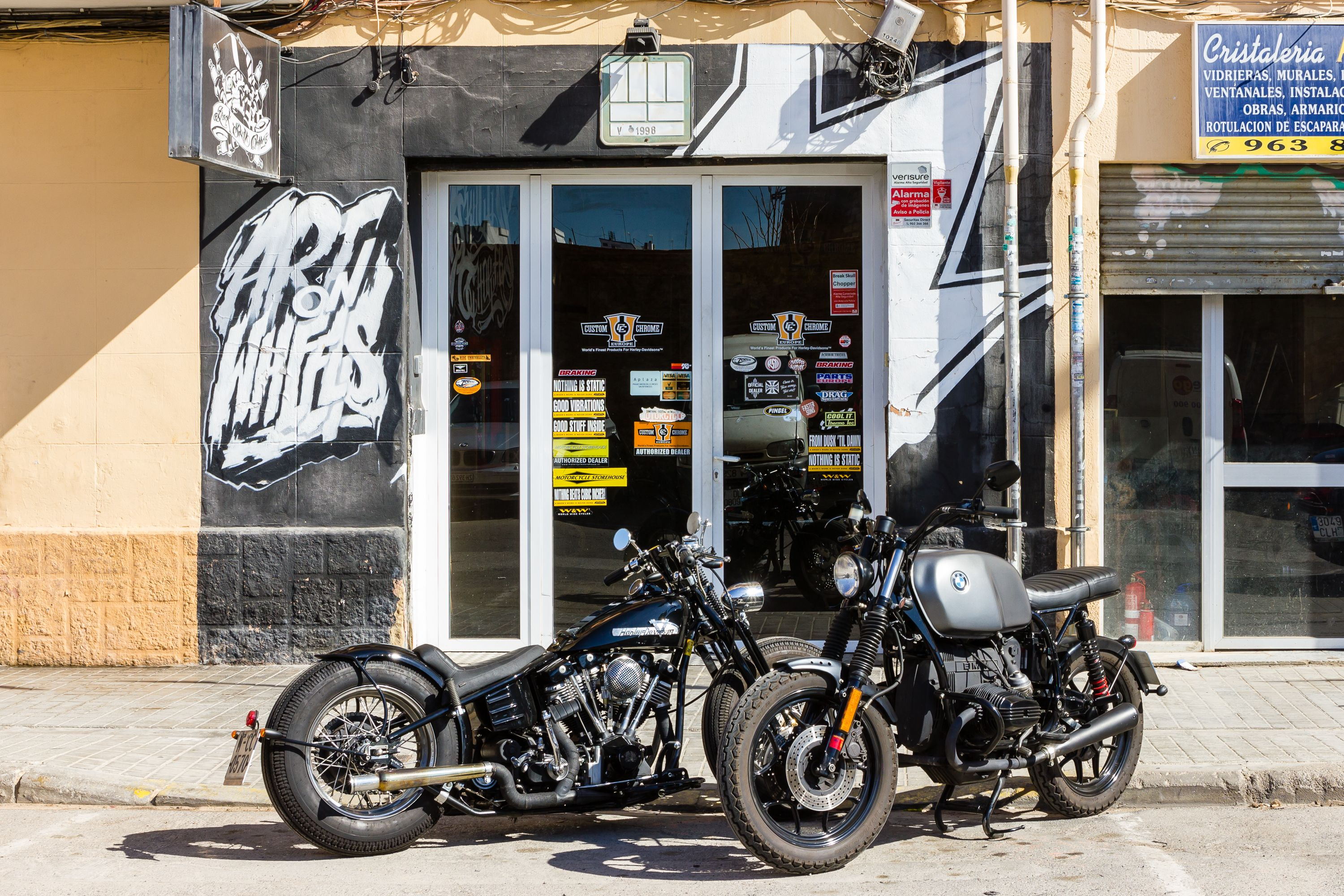Foto 1 de Motos en Valencia | Break Skull Choppers