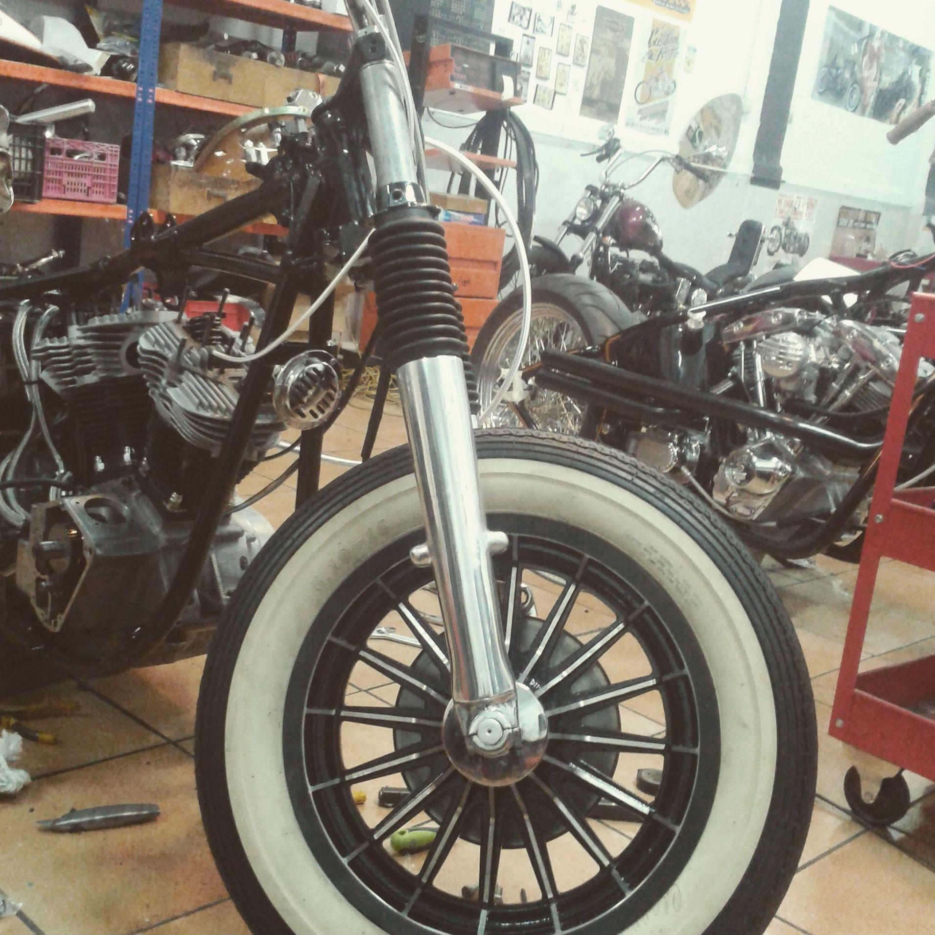 restauracion motos custom, moto custom, harley davidson, Shovelhead