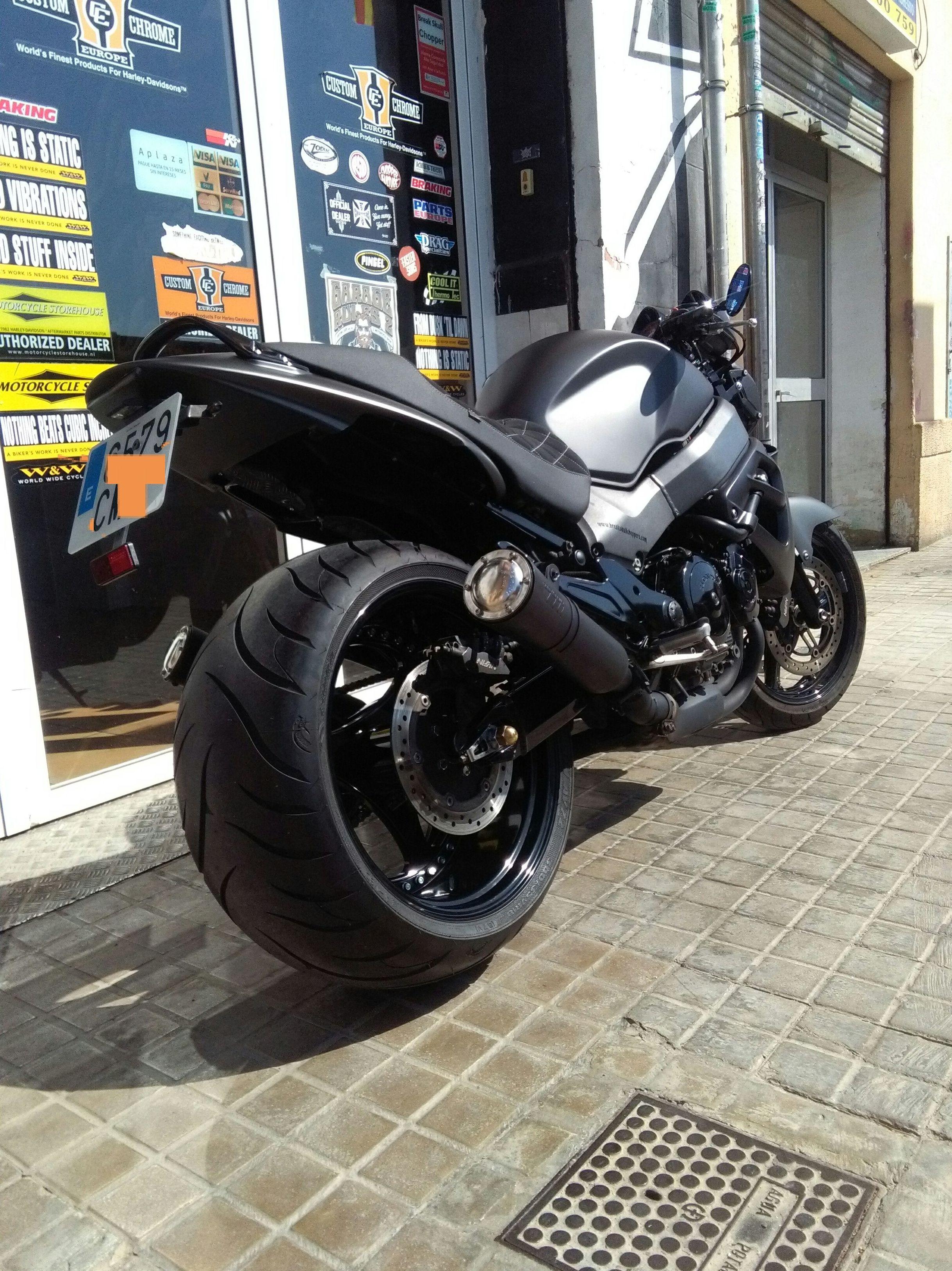 Custom japonés,customizacion motos, transformación de motos en Valencia