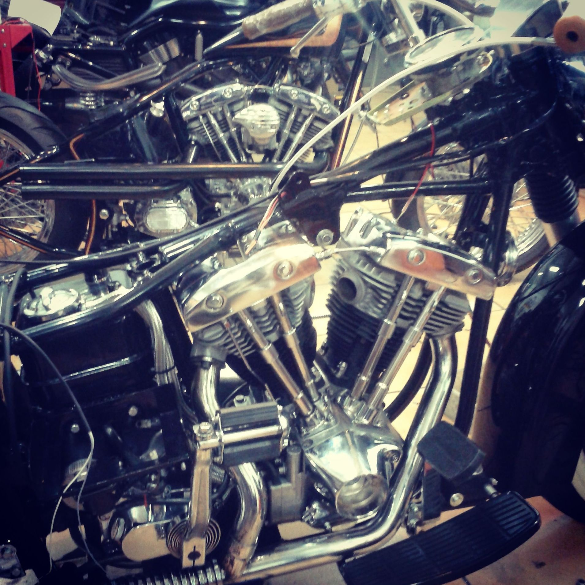 restauracion motos ,restauracion harley davidson, , Shovelhead, customizar motos en valencia