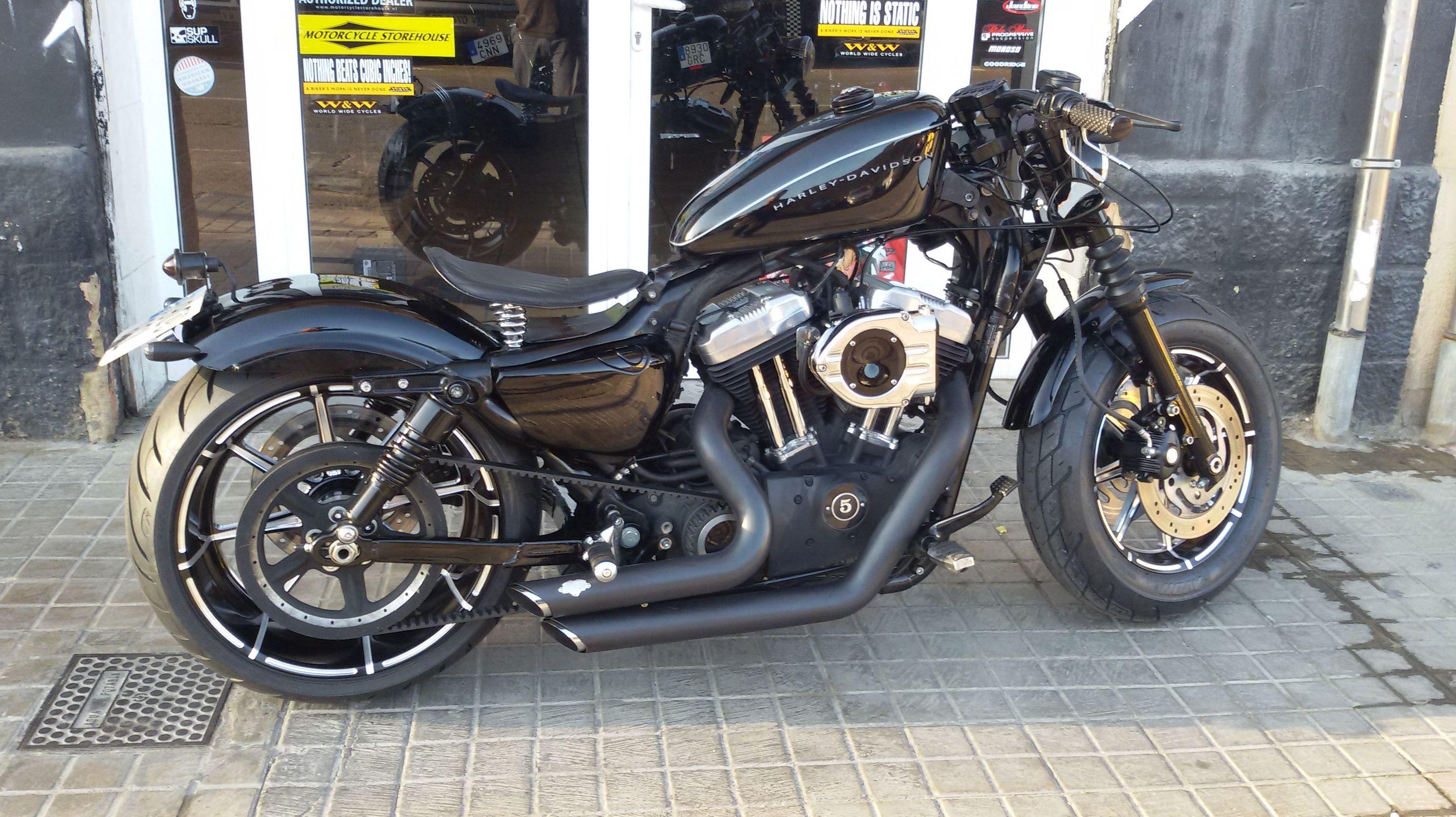 transformacion sporster,customizar motos,venta harley davidson,