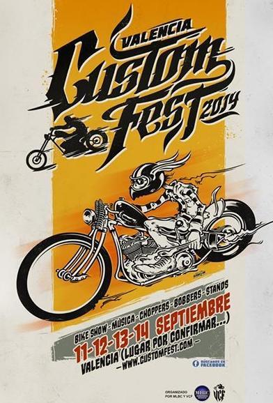 Valencia Custom Fest 2014, Motos Custom, Restauración motos Custom, Transformación motos Harley Davidson antiguas