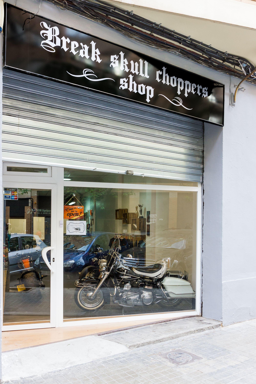 Foto 1 de Motos en Valencia | Break Skull Choppers