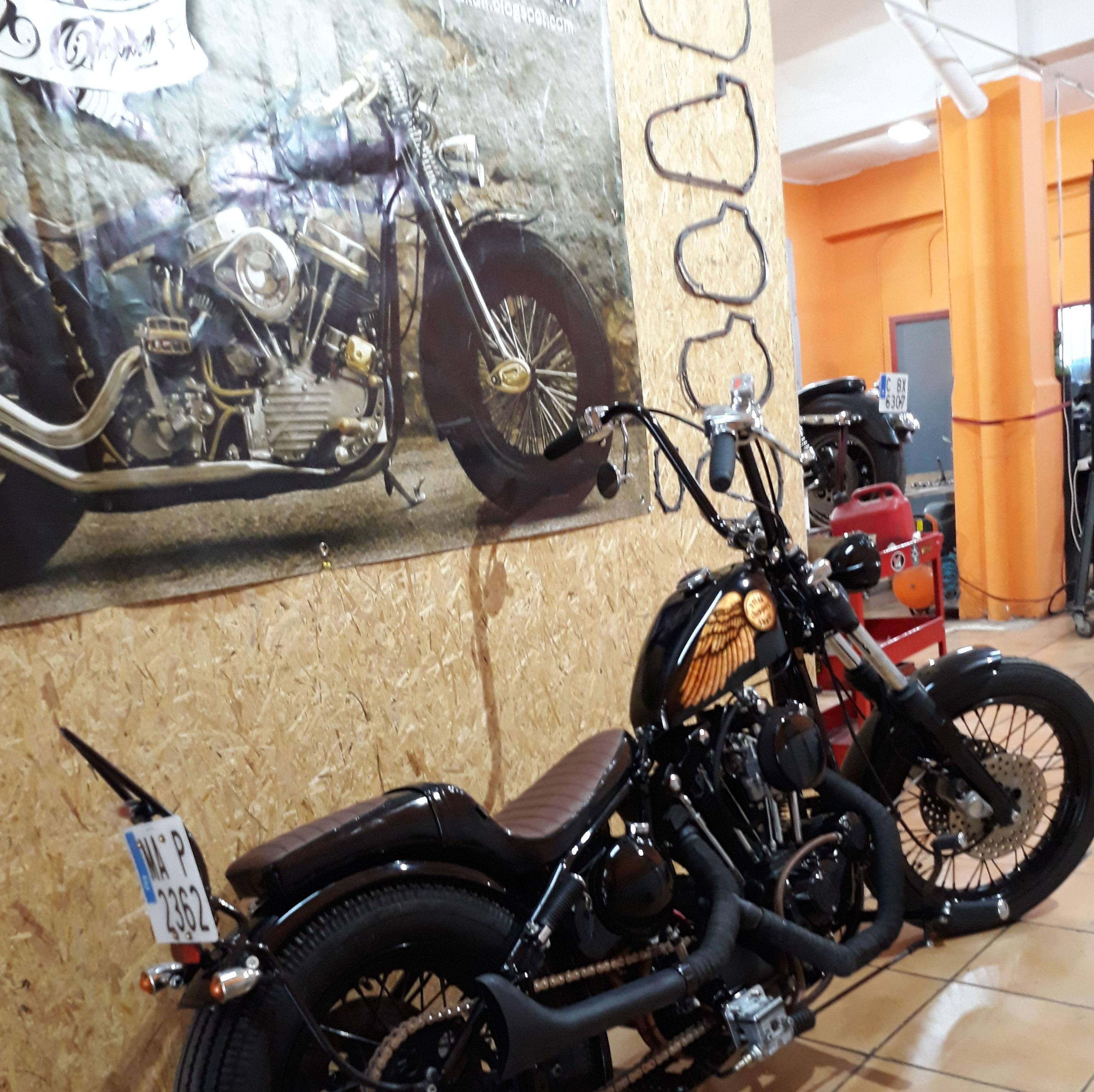 Harleydavidson, custom, personalización motos en Valencia,personalización harleys davidson