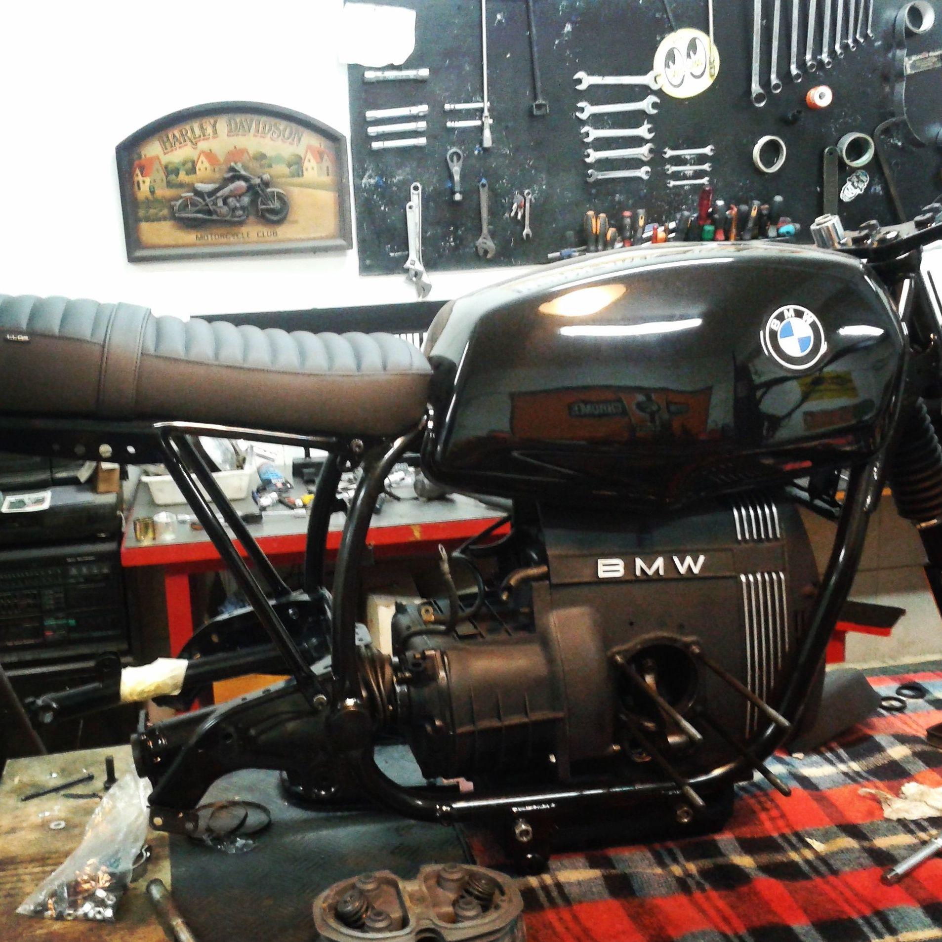 customizacion motos clasicas, restauracion moto clasica, reatauracion bmw, restauracion motos en valencia