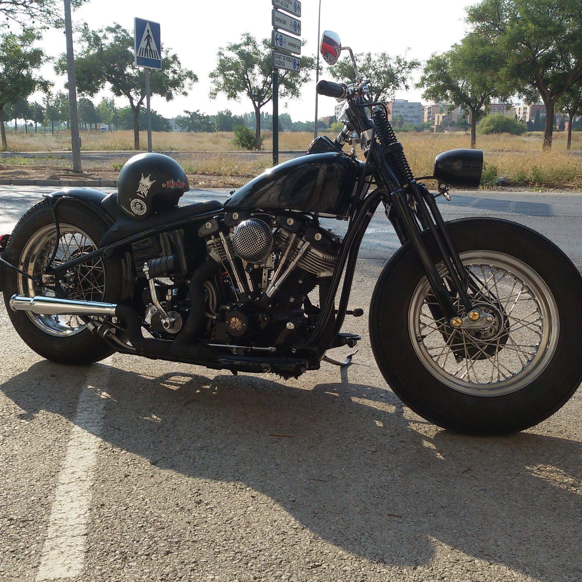 transformacion harley davidson,motos vintage, restsuracion motos,harley davidson shovelhead,customizar shovelhead valencia