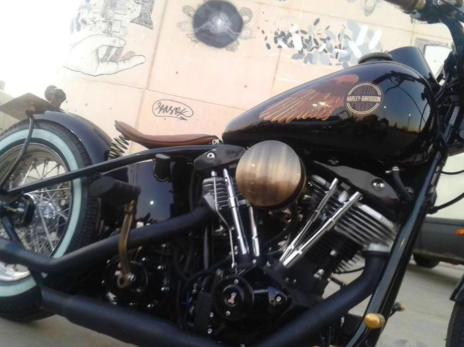 Personalisation and construction of custom motor cyclesa