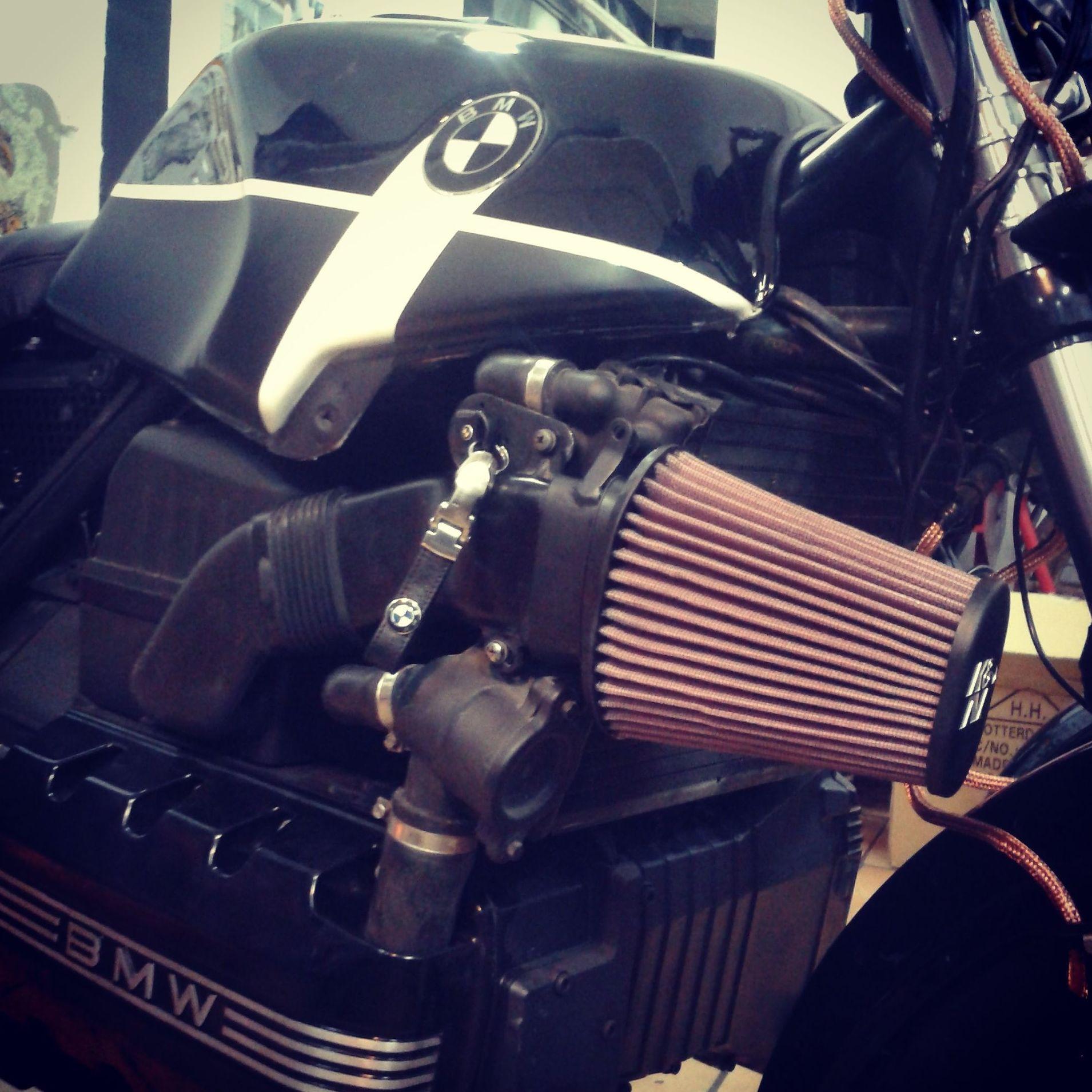 motos custom en valencia, personalizacion motos, customizar bmw, bmwk100