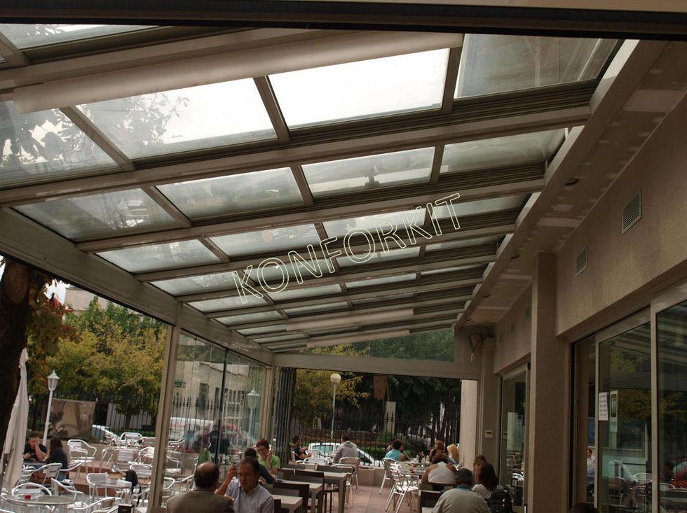 Techos y acristalamientos para terrazas