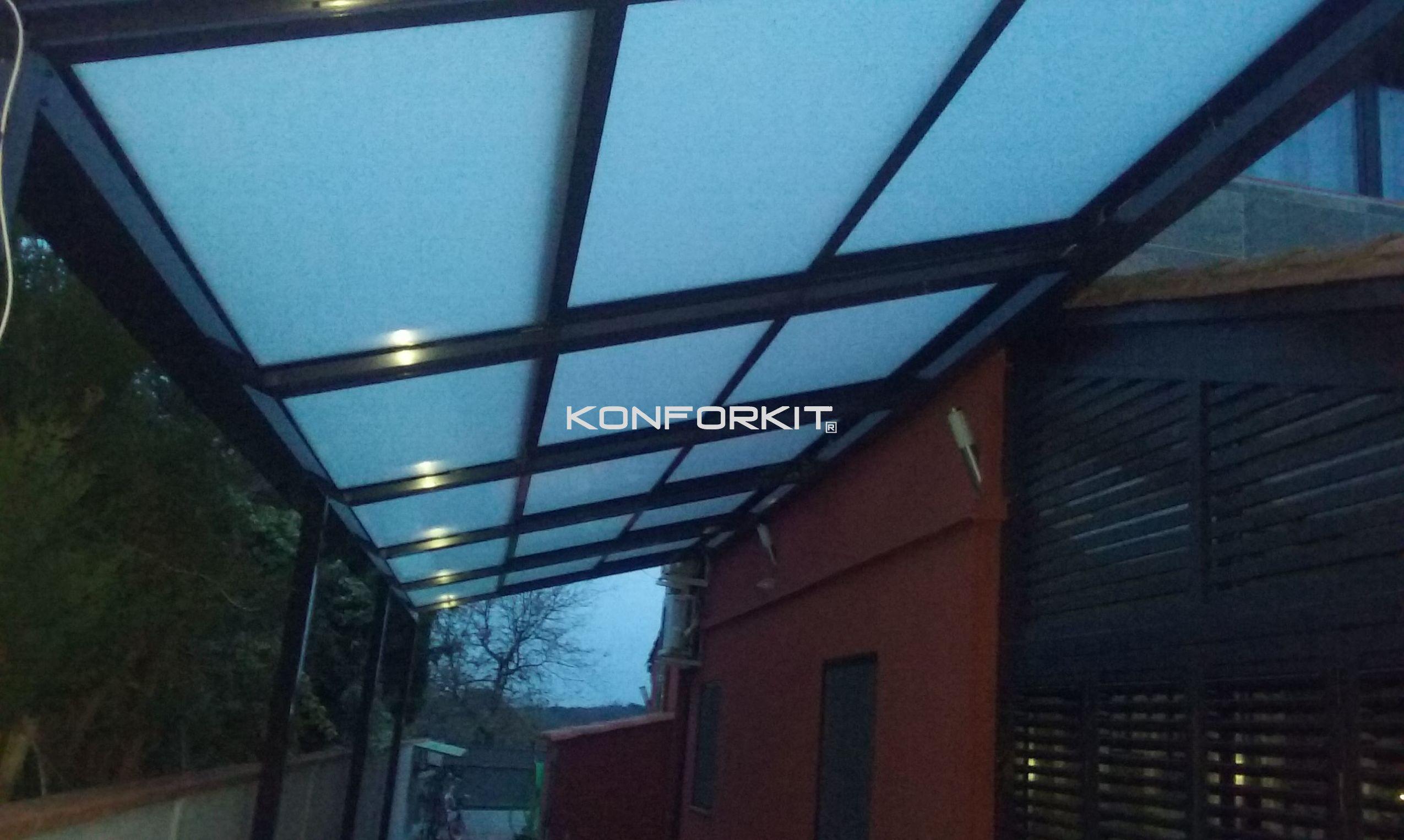 Techos móviles para terrazas de restaurantes