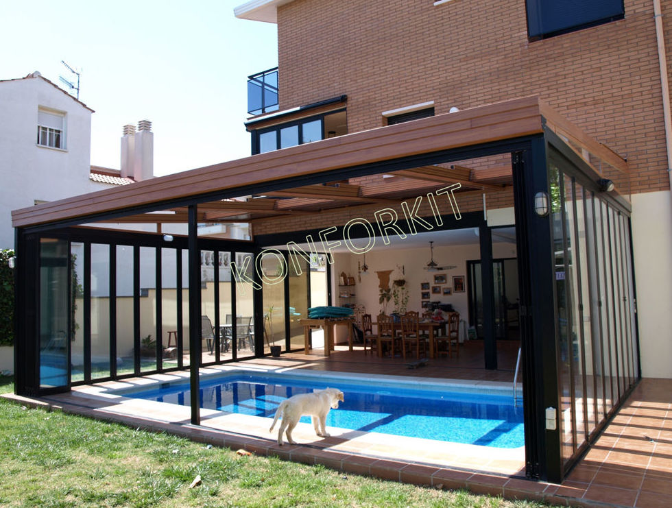 Cerramiento de piscinas y terrazas