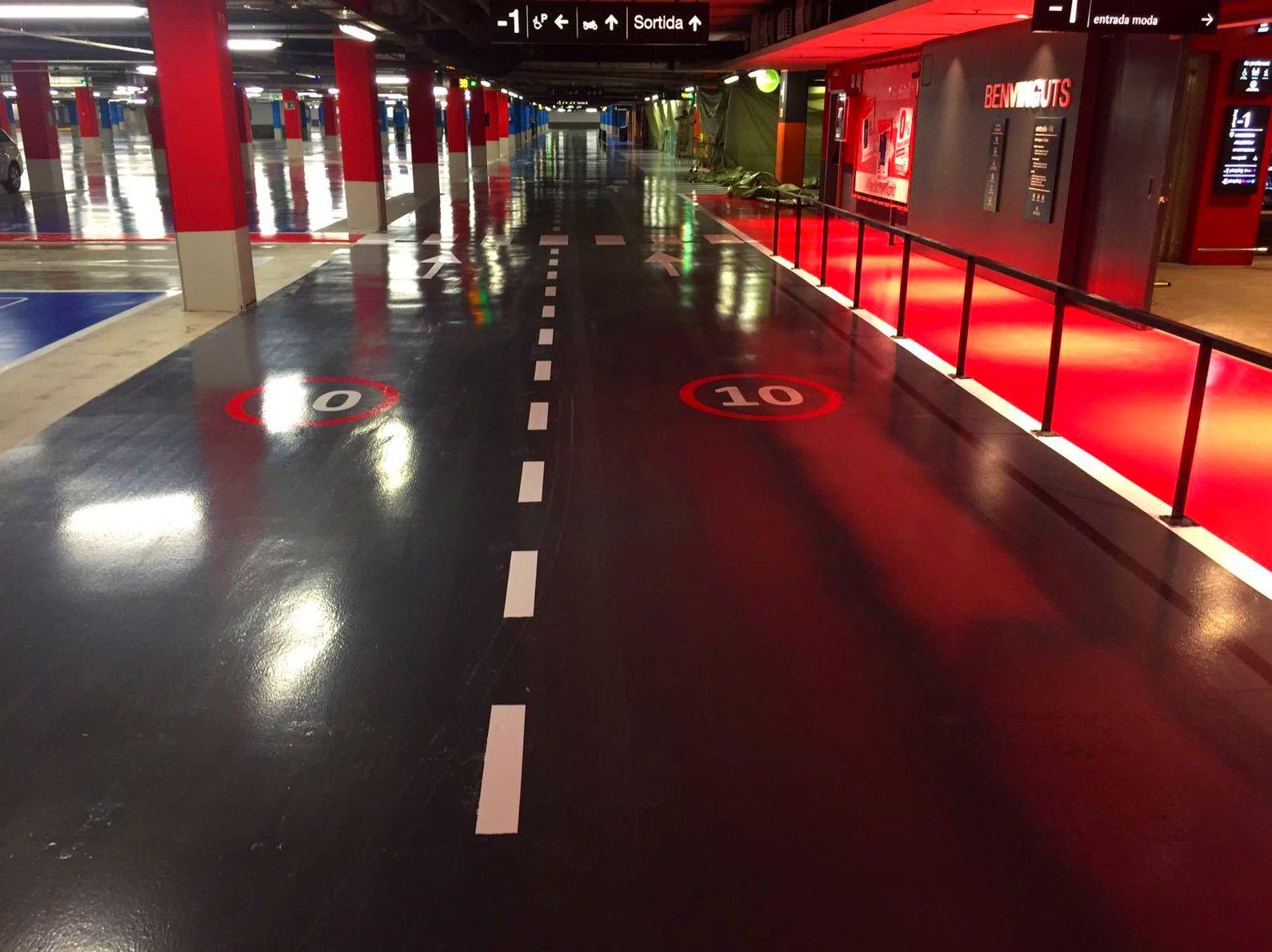 Foto 22 de Pavimentos industriales en Esparreguera | Pinturas Jurado
