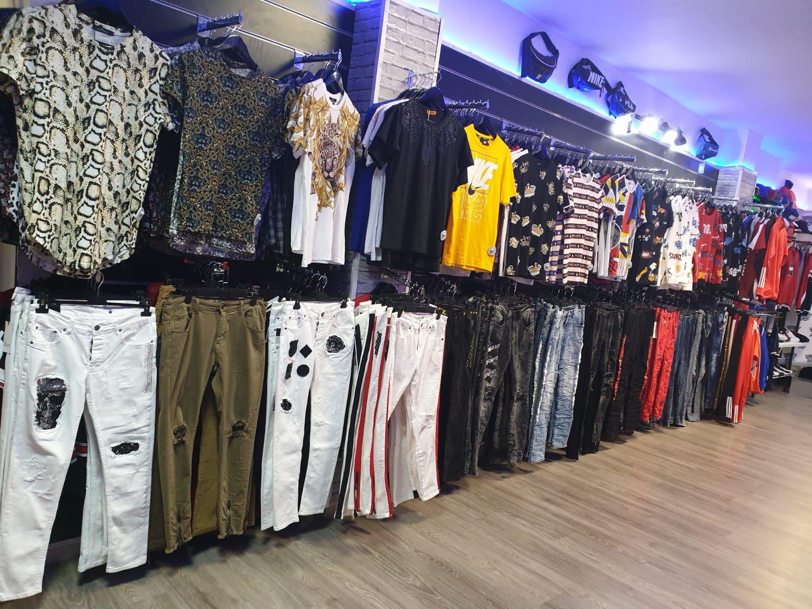 Tienda de ropa para hombre y mujer en Valladolid