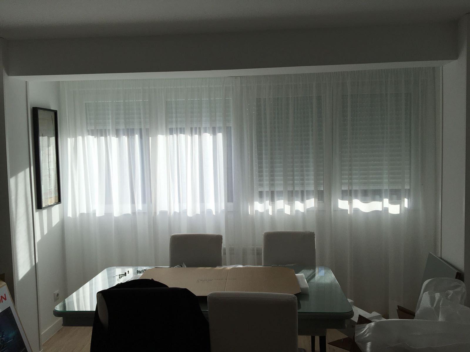 Servicio de instalación de cortinas en Madrid