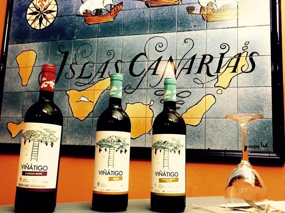 Os presentamos las Bodegas Viñátigo... vinos de nuestra tierra que sorprenden. Salud