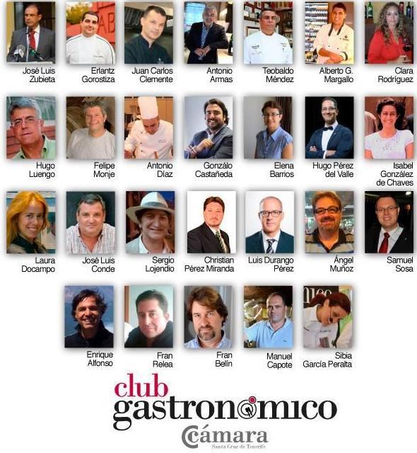 CLUB GASTRONÓMICO DE LA CAMARA DE COMERCIO DE SANTA CRUZ DE TENERIFE.