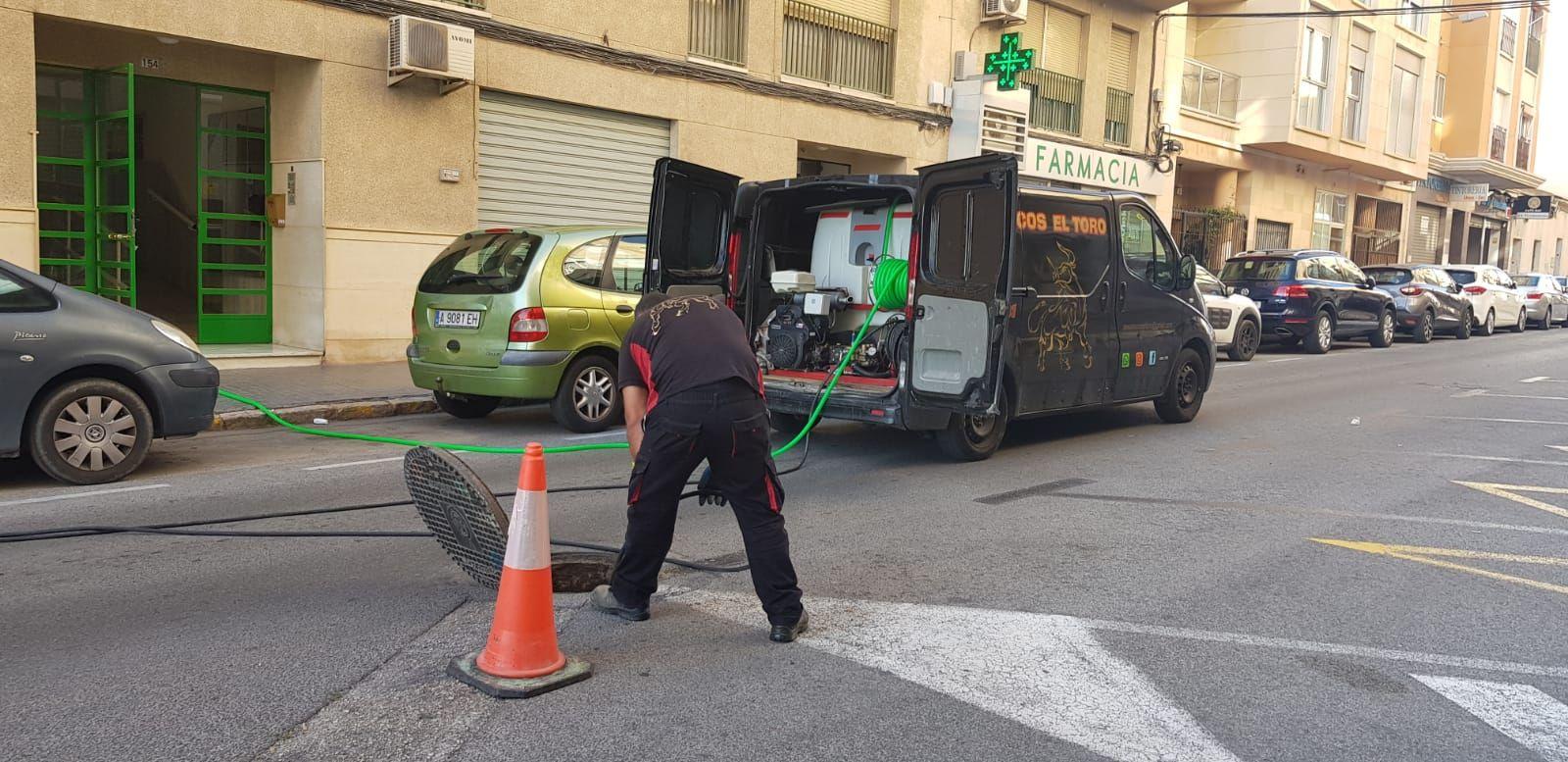 desatasco de tuberías Alicante