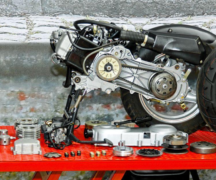 Reparación de motos en Sevilla
