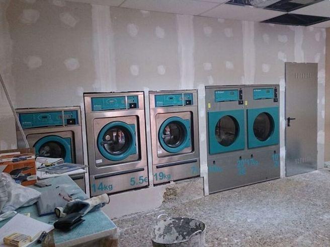 Reforma de lavandería
