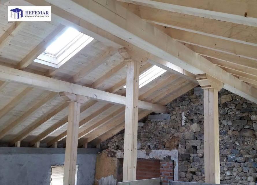Reparación de estructuras de madera en Cantabria