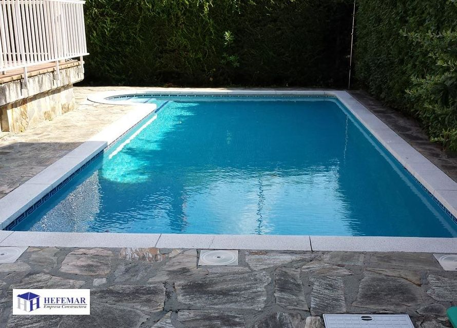 Construcción de piscinas en Santander