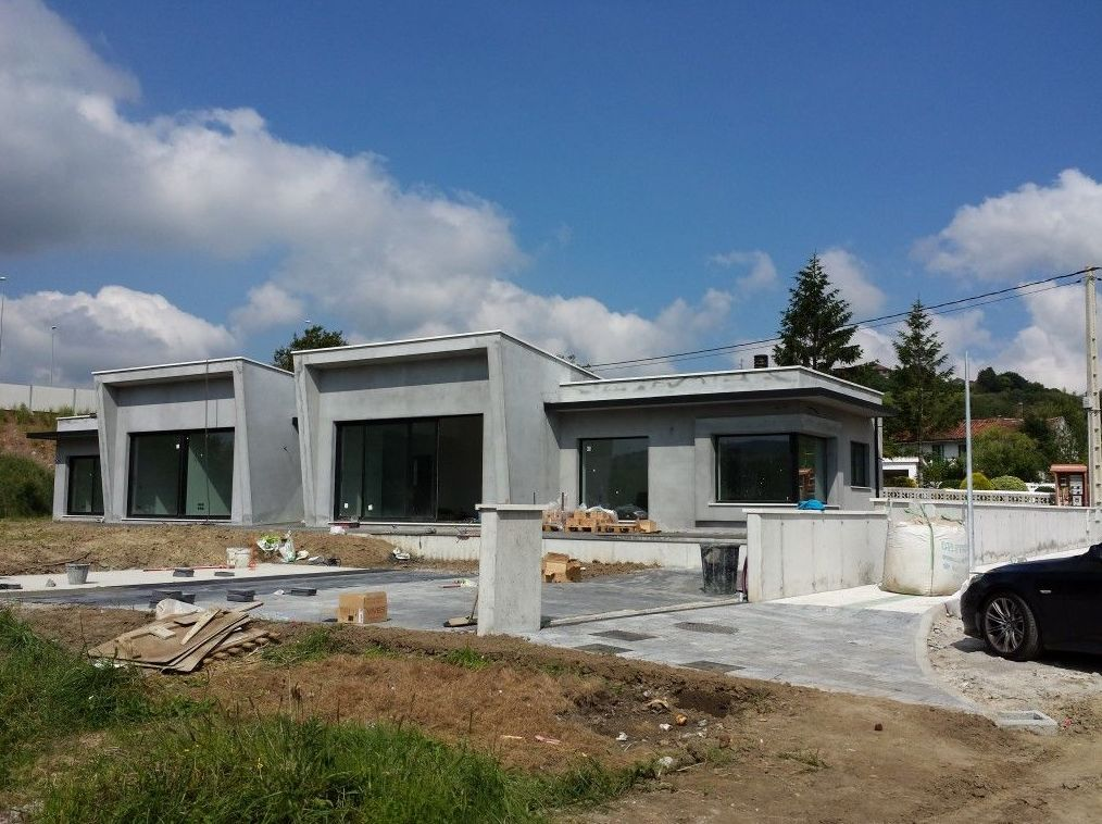 Construcción de chalés en Santander