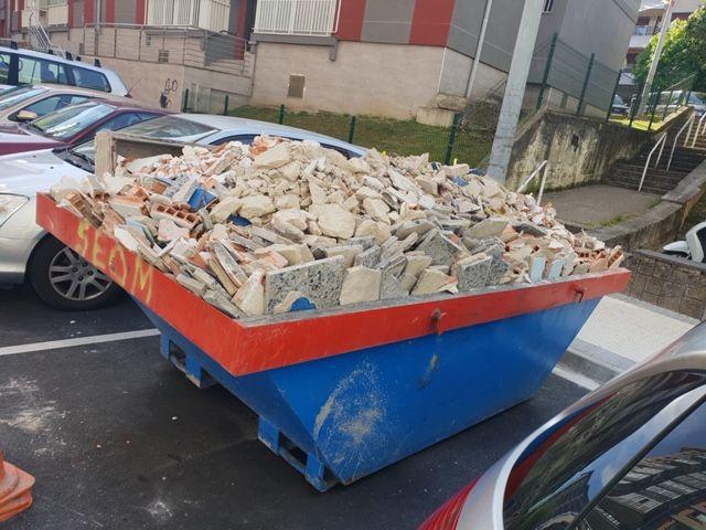 Contenedores de escombros Irún