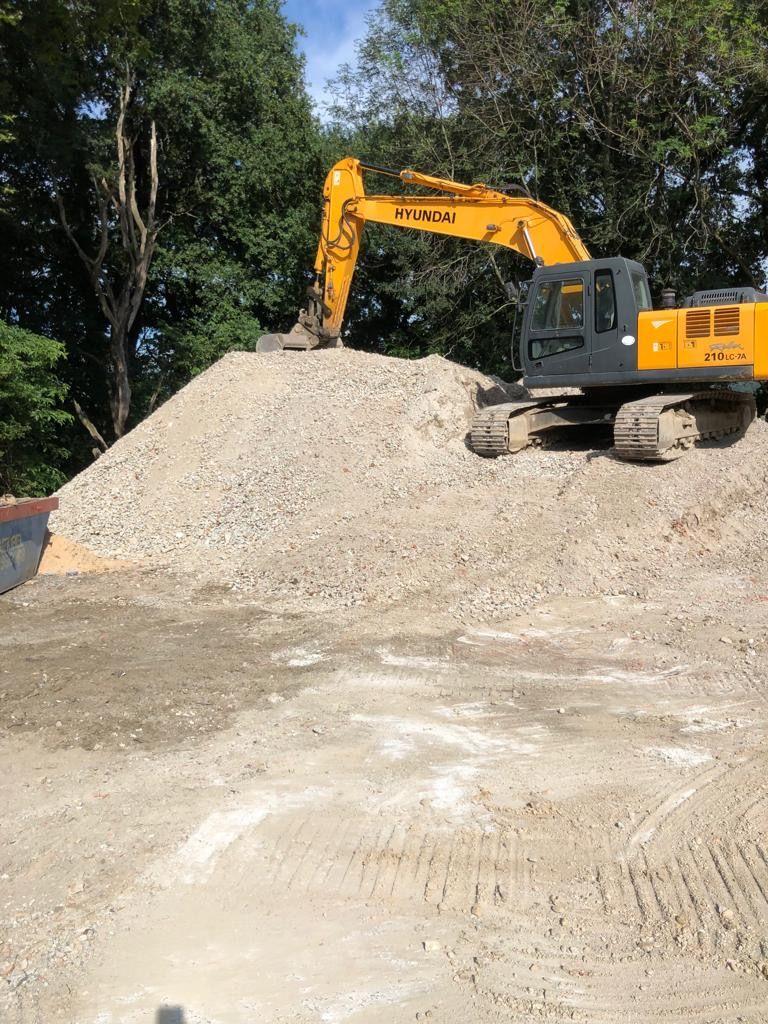 Alquiler de excavadoras Errenteria