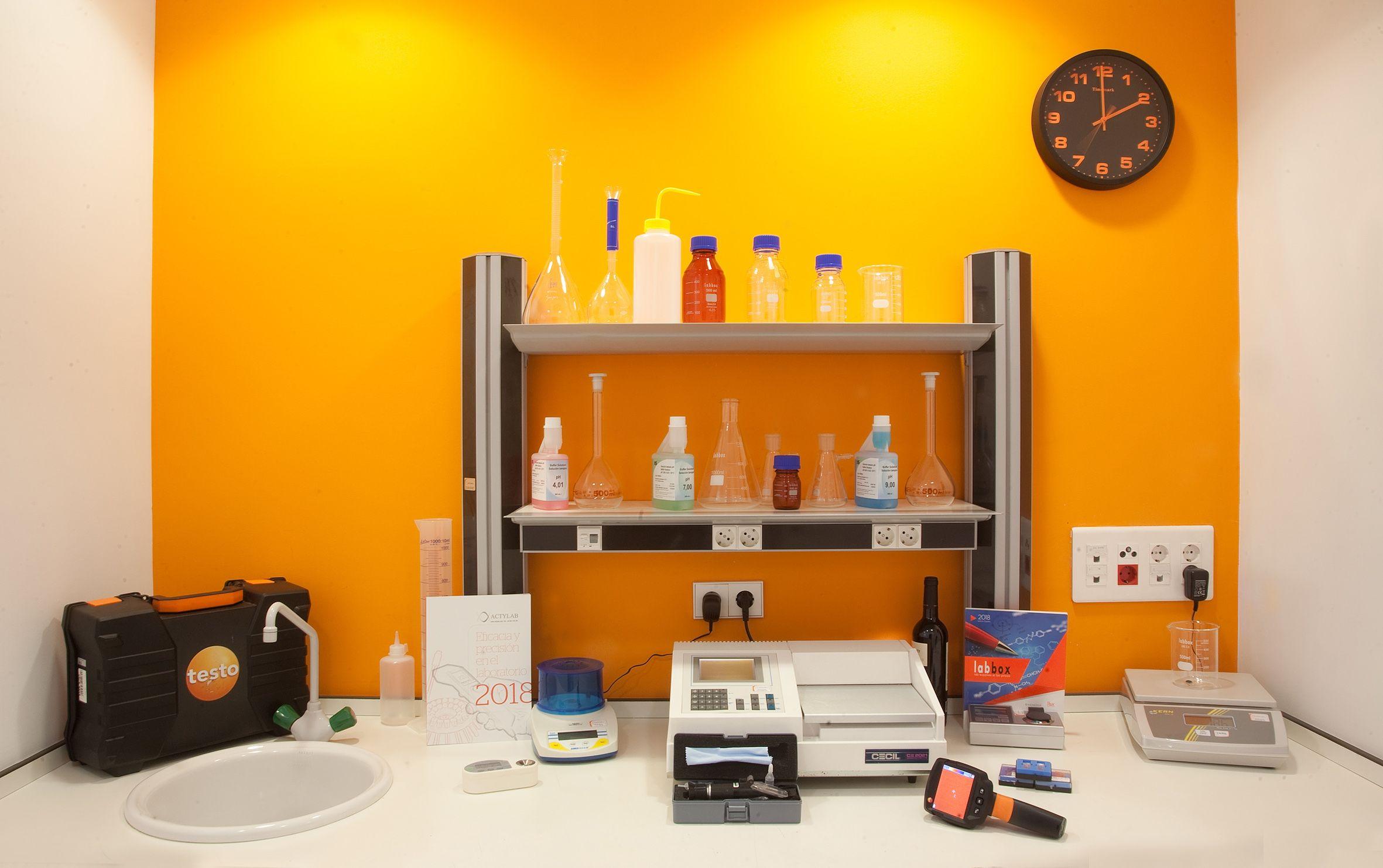 Equipos de laboratorio en La Rioja