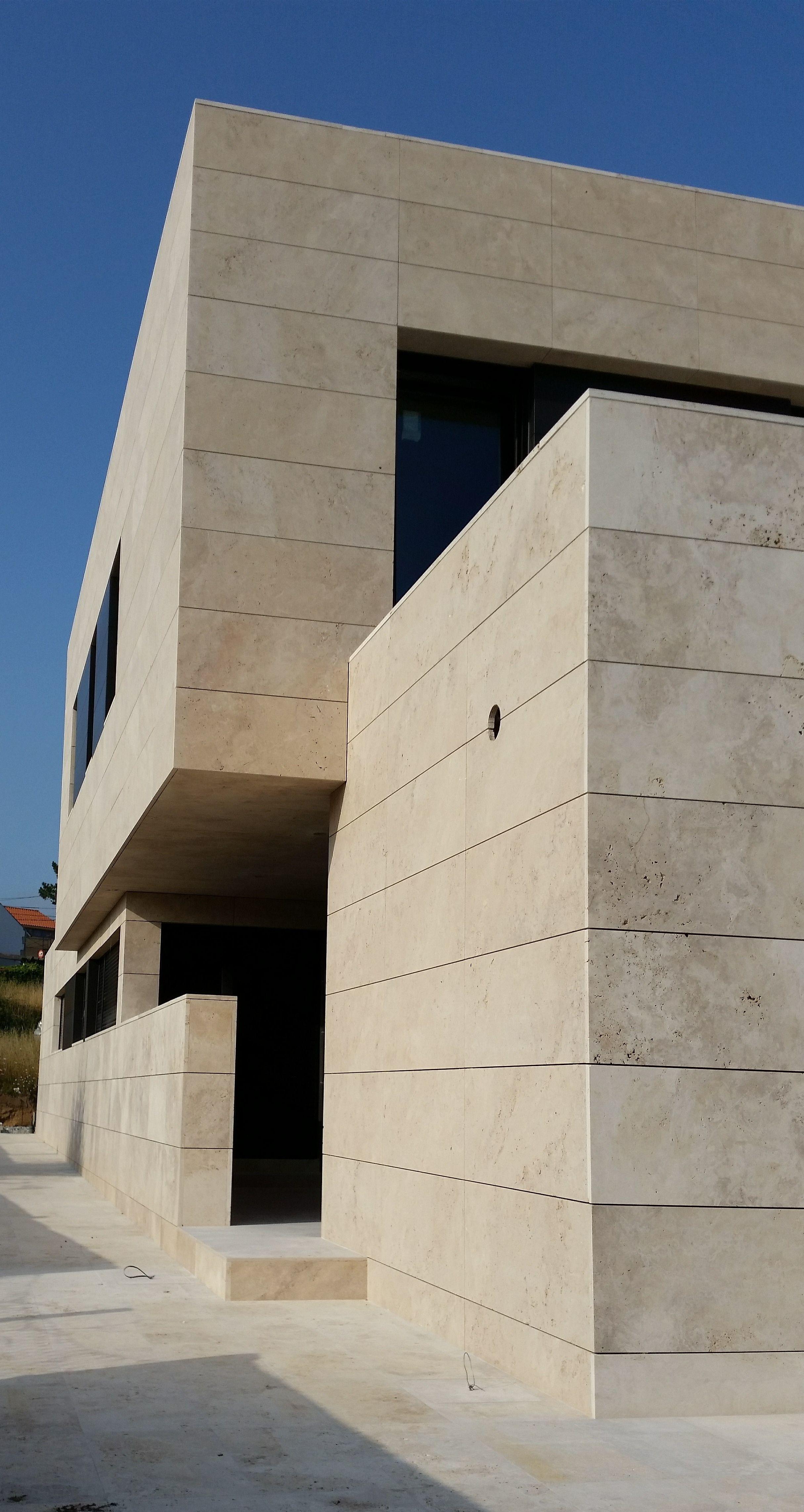 Marmol travertino para fachadas tambin hay travertino en - Piedra caliza para fachadas ...