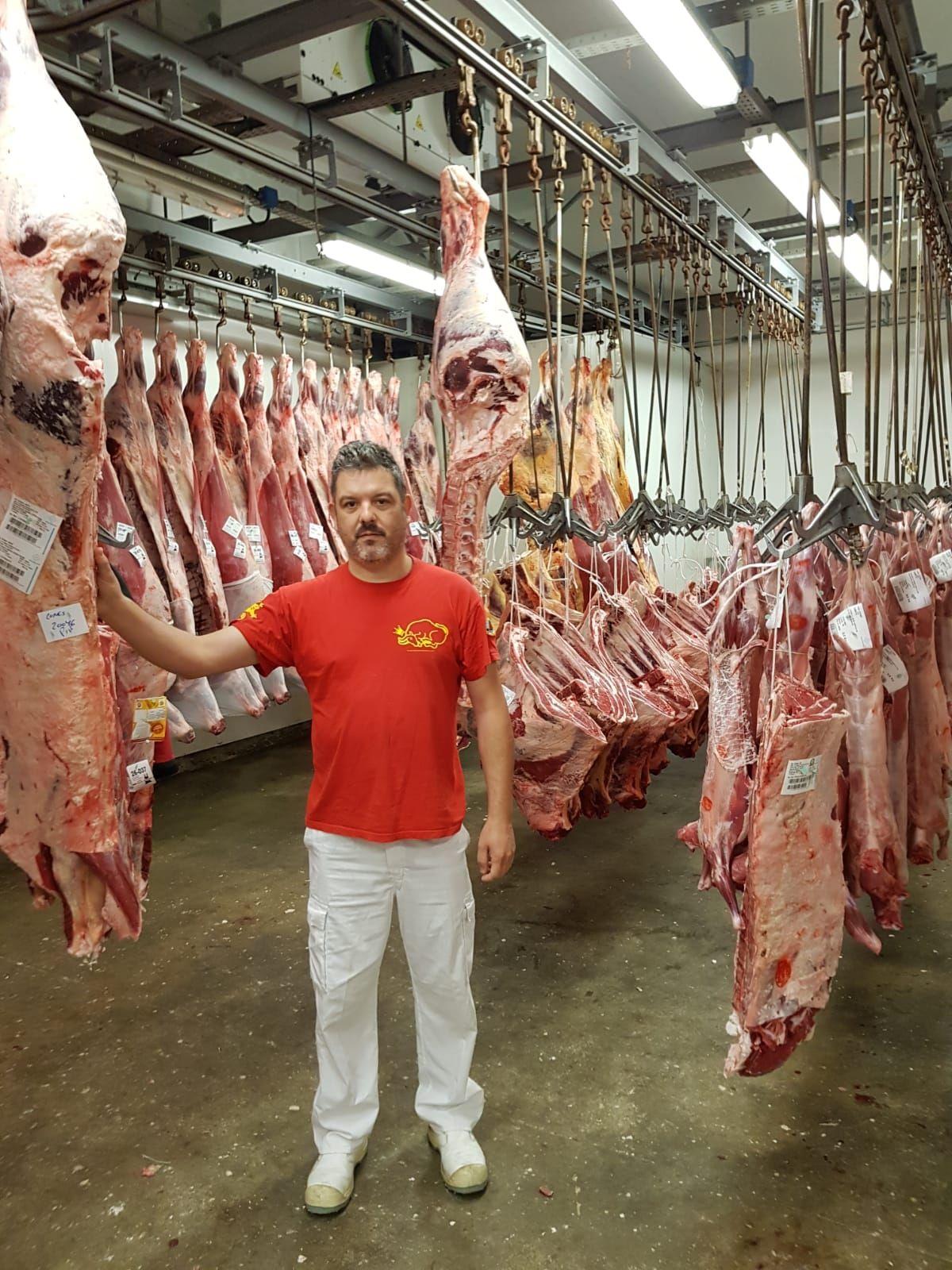Carne de buey certificada