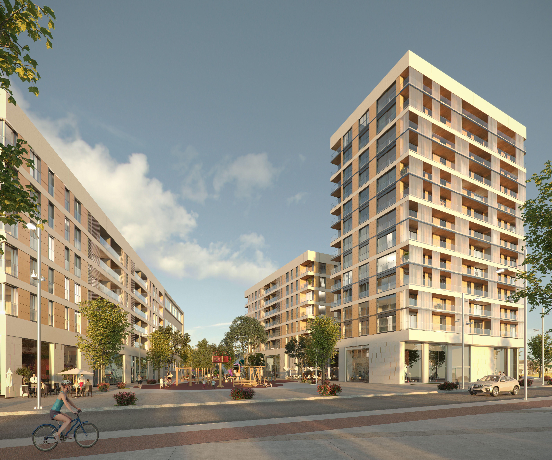 Obras conjunto residencial de 148 viviendas en Port Badalona: Trabajos de MasterPlan
