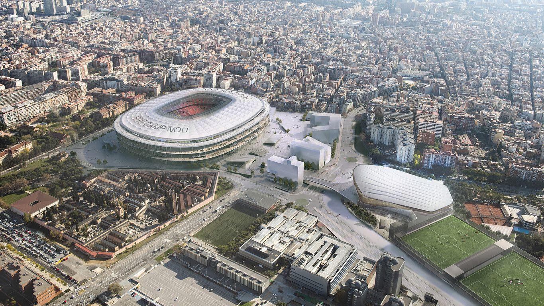 Proyecto constructivo urbanización entornos estadio FCB: Trabajos de MasterPlan