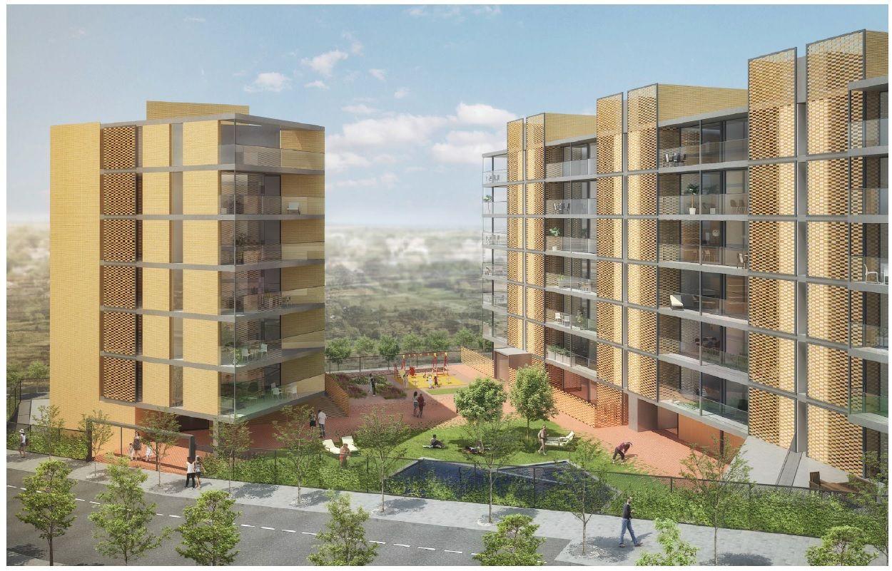 Promoción viviendas en Sant Feliu de Llobregat (65 viviendas): Trabajos de MasterPlan