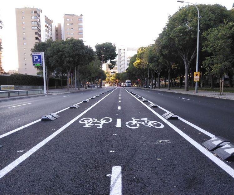 Proyectos de carril bici en Barcelona