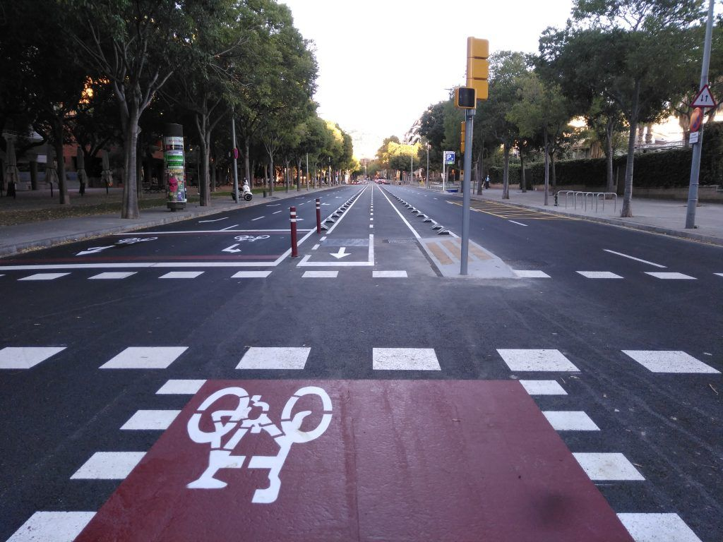Proyecto constructivo lote 2 carriles bici en Barcelona: Trabajos de MasterPlan