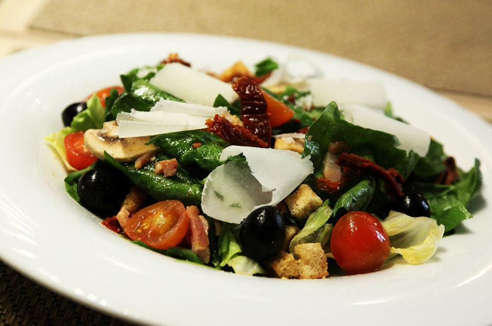 Variedad en el tipo de ensaladas