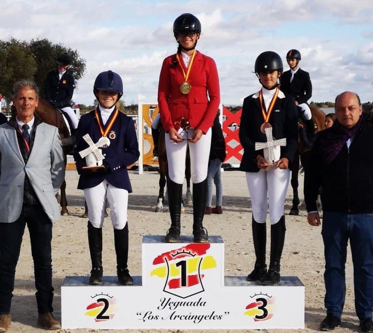 Campeones de España de CCE en la Categoría Infantil