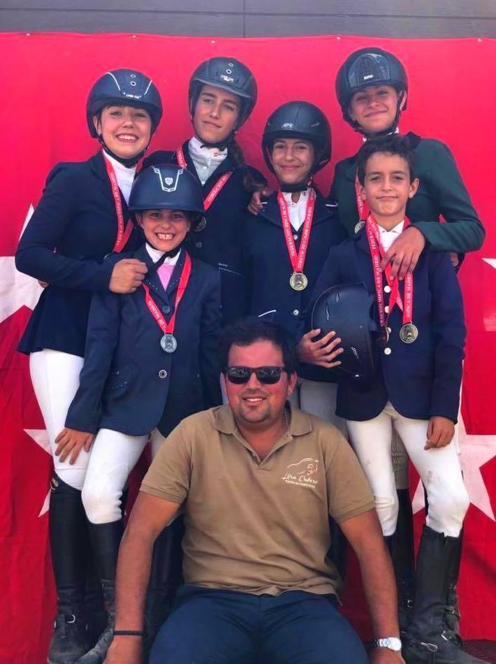 medallistas equipo lira comunidad madrid cce 2019