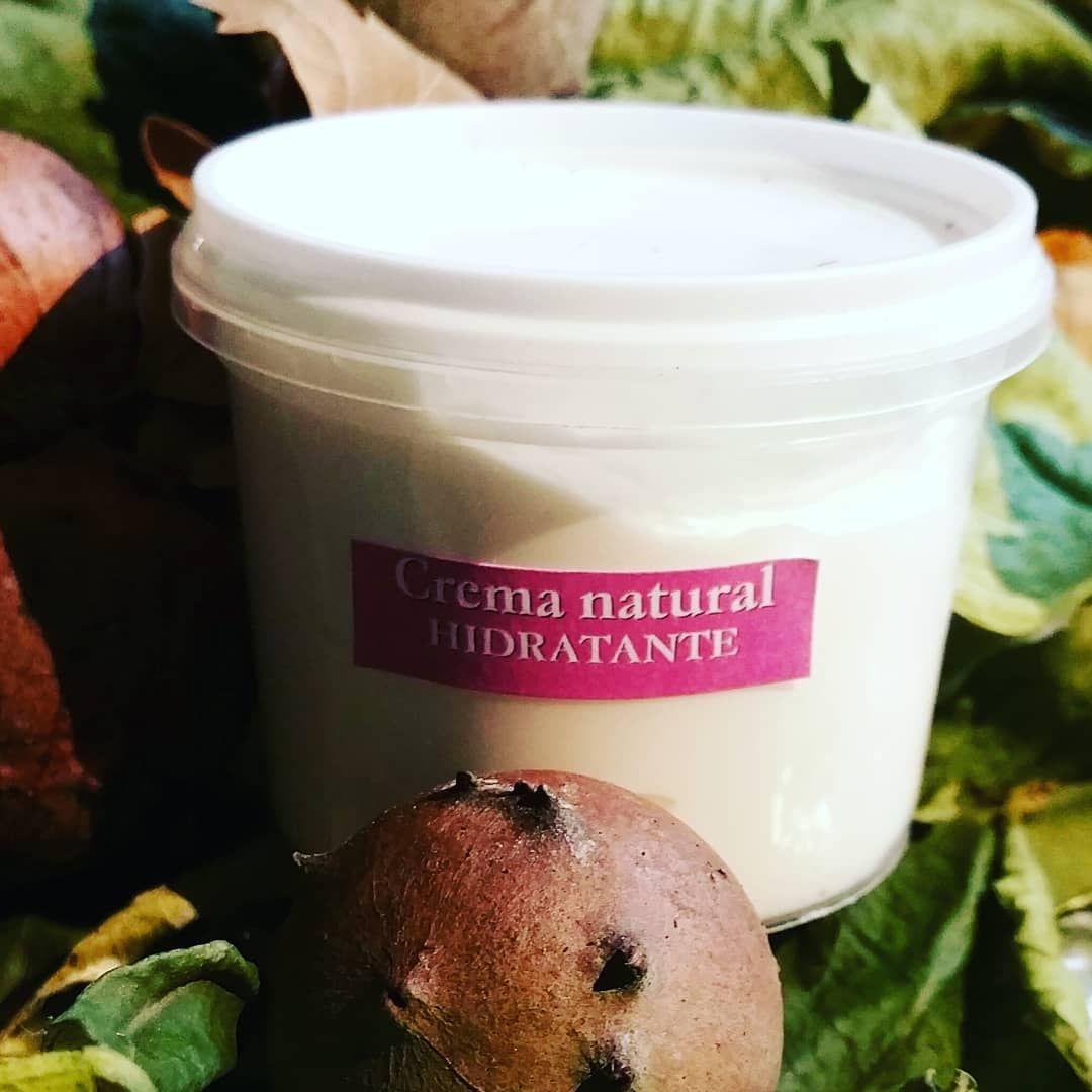 Crema natural hidratante