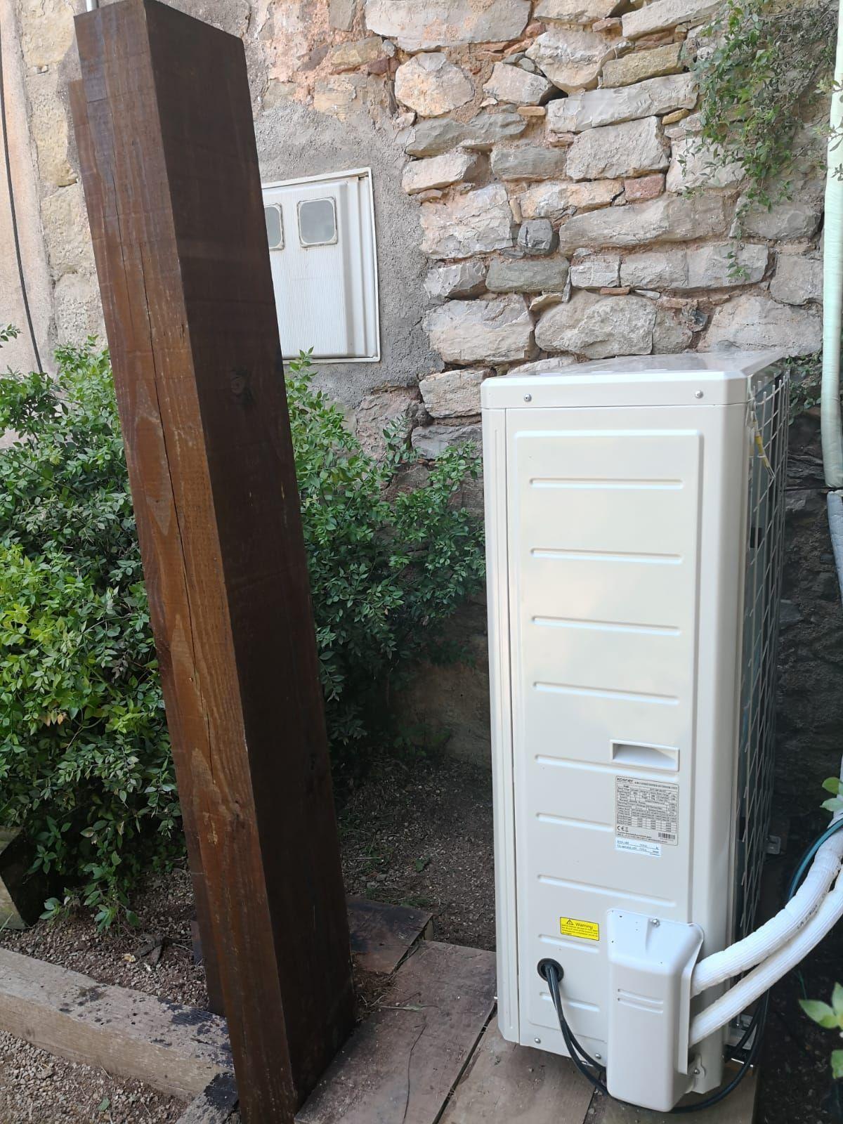 Instalación de aires acondicionados rápida y eficaz
