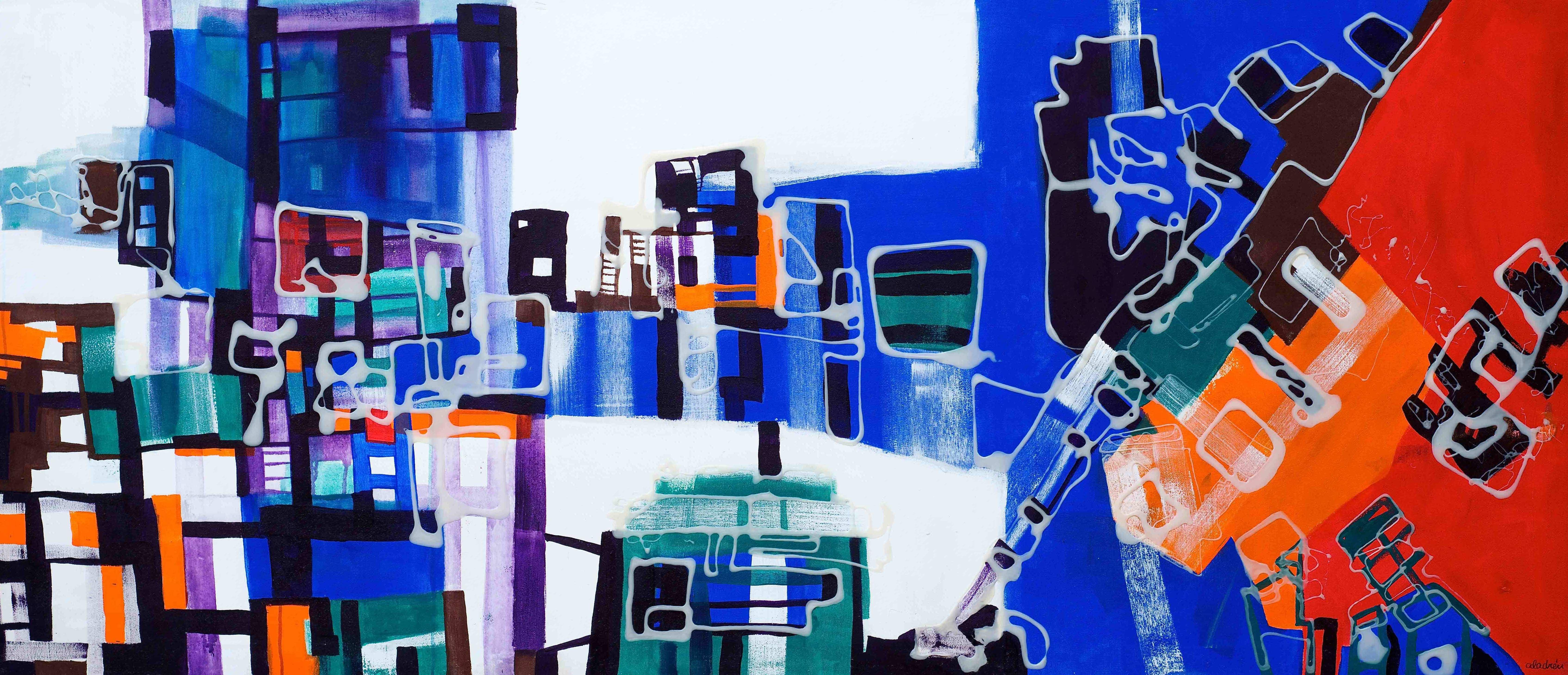 Pintura contemporánea abstracta