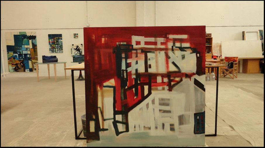 Pintura abstracta en Zaragoza