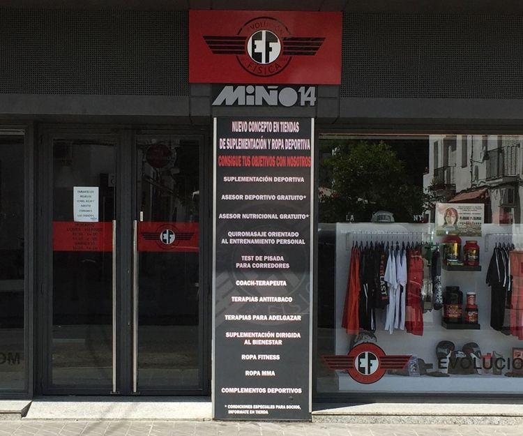 Tienda multimarca especializada en suplementación deportiva en Sevilla