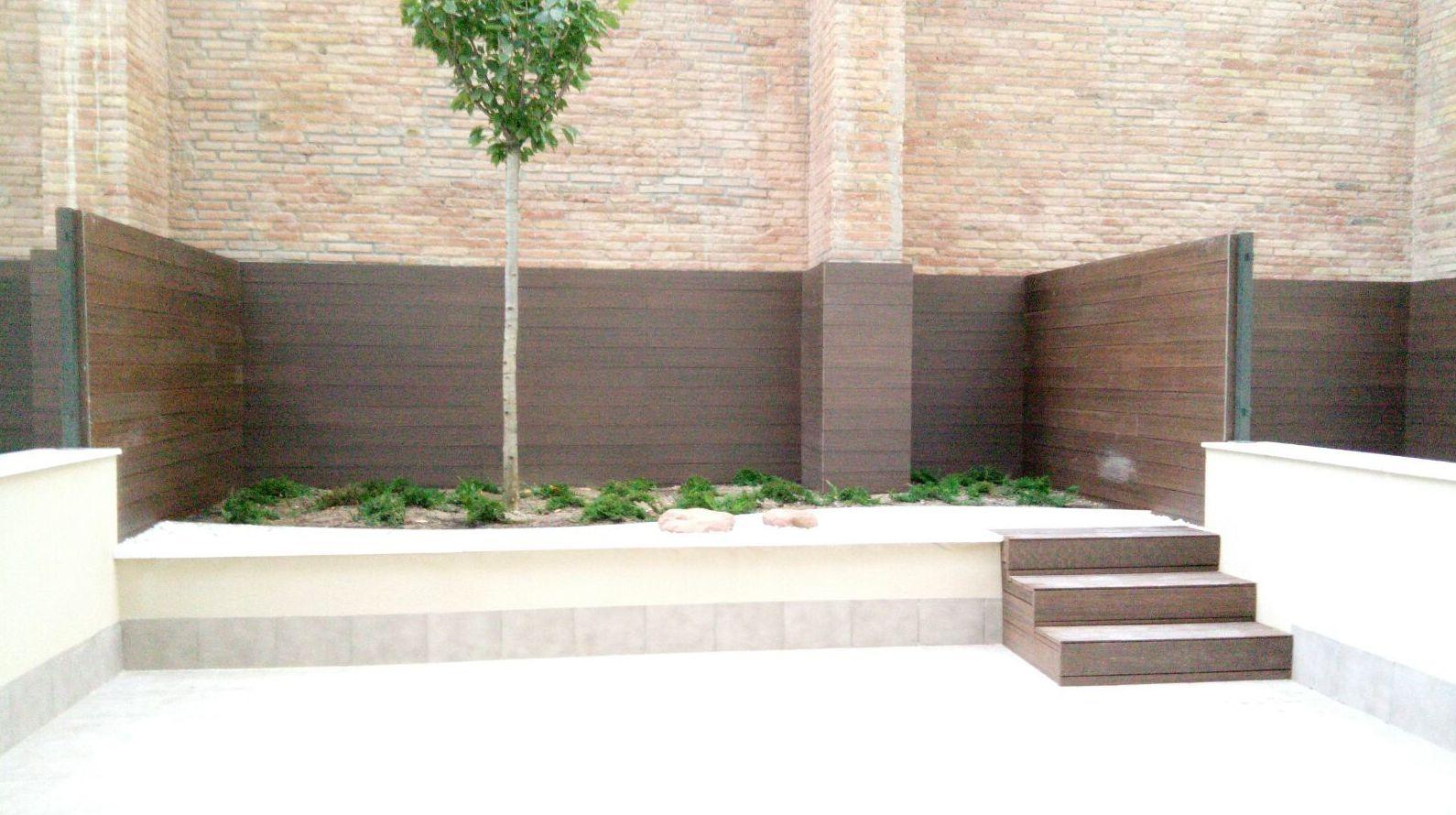 Vallas madera Sabadell