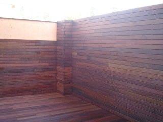 Paredes y fachadas de madera