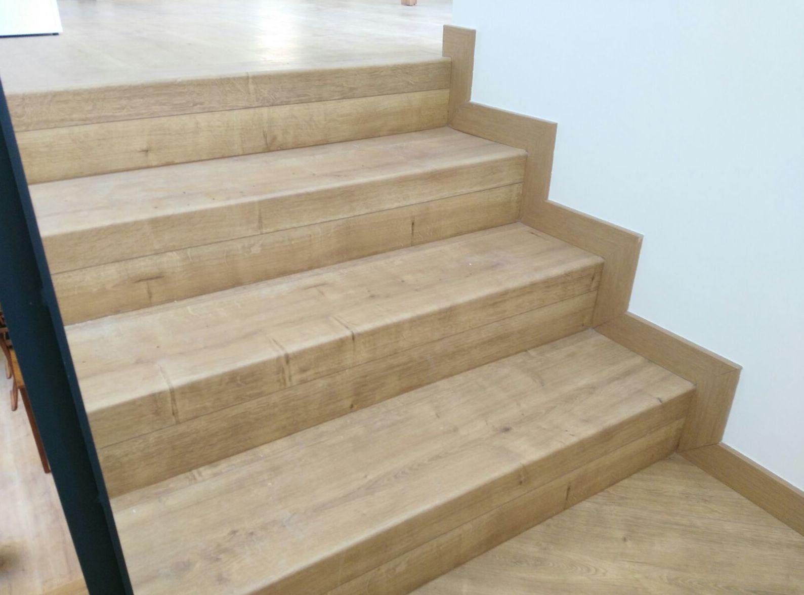 Escaleras madera Sabadell