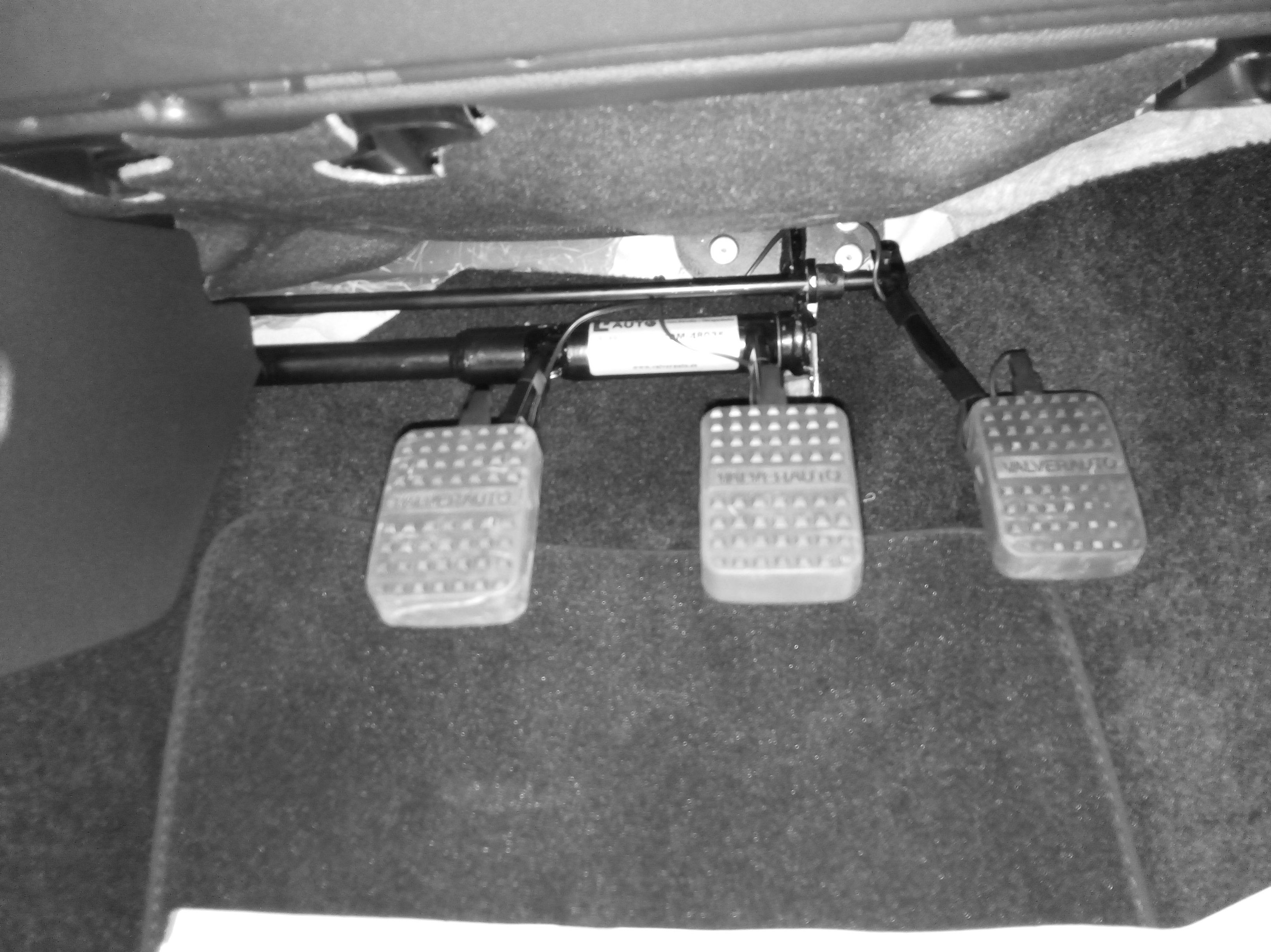 Doble mando para autoescuela