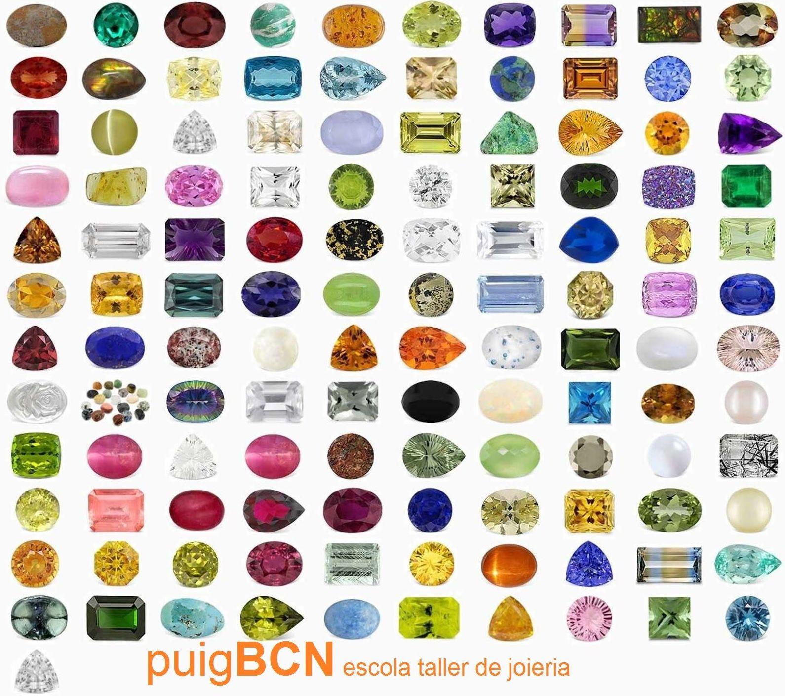 Piedras naturales y semipreciosas en Barcelona