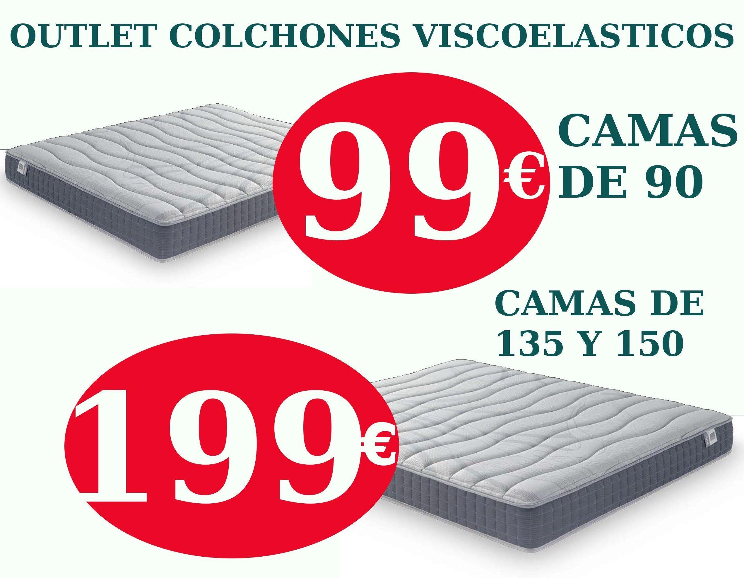 EV Colchonerías:colchones viscoelásticos alta gama por 99 €